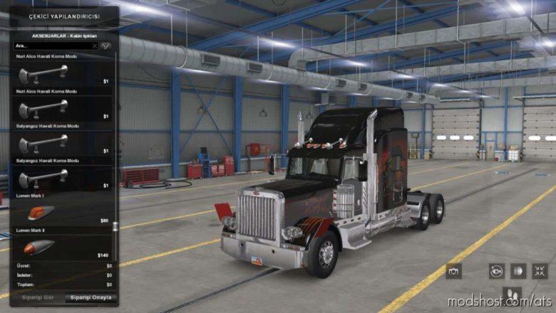 AIR Horns Pack V3.0 for American Truck Simulator