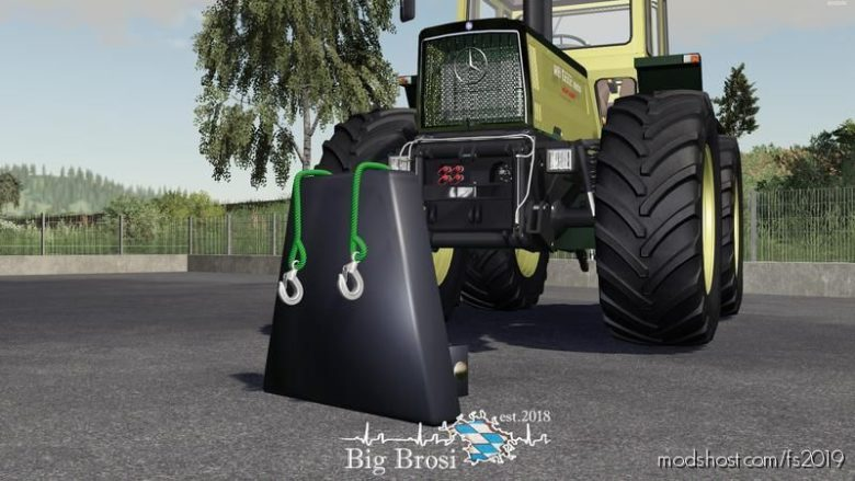 500KG Eigenbau Gewicht for Farming Simulator 19