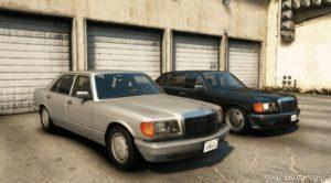 Mercedes Benz 560SEL (W126) Us-Spec for Grand Theft Auto V