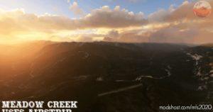 Meadow Creek Usfs Airport 0S1, MT, USA for Microsoft Flight Simulator 2020