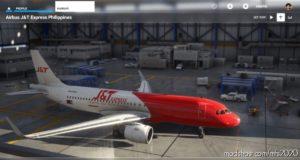 J&Amp;T Express Philippines (Callsign Balibag) Livery for Microsoft Flight Simulator 2020