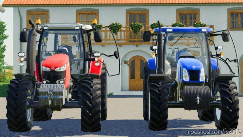 NEW Holland T6000 Series for Farming Simulator 19