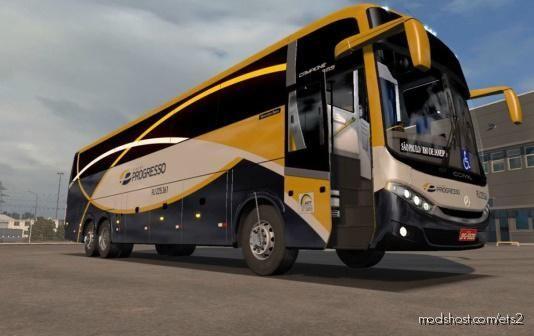 Comil Campione 3.65 6×2 [1.39.X] for Euro Truck Simulator 2