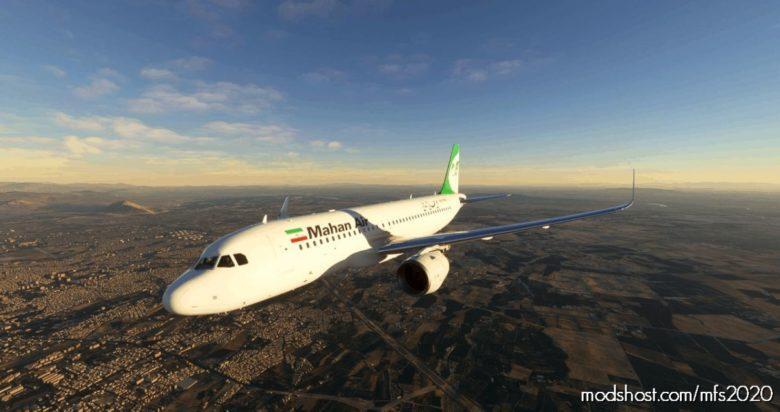 Mahan AIR A320 NEO – 8K for Microsoft Flight Simulator 2020