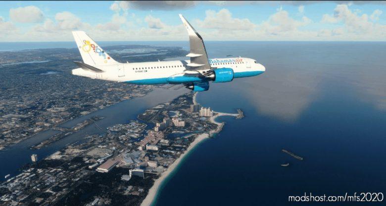 Bahamasair A320Neo – [4K] for Microsoft Flight Simulator 2020