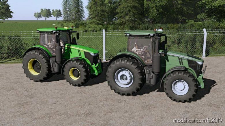 John Deere 7R Multicolor for Farming Simulator 19