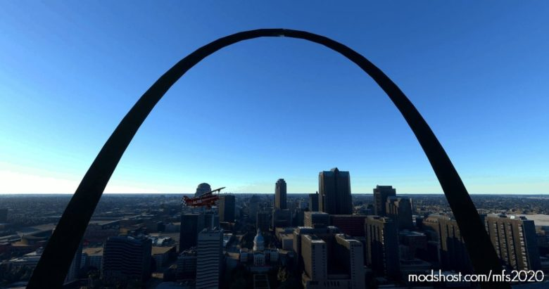 Gateway Arch National Park (AND Lewis & Clark Trail) Flight Plan V1.3 for Microsoft Flight Simulator 2020