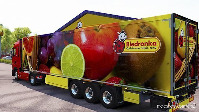 Biedronka Krone Trailer for Euro Truck Simulator 2