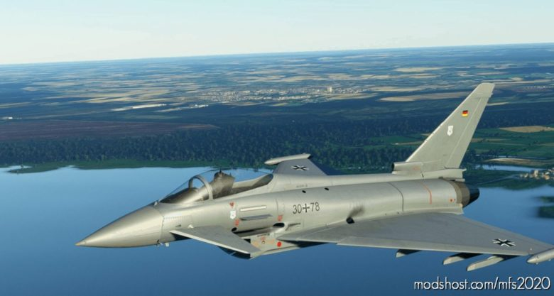 German Airforce Basepack For Eurofighter (Bredok3D) for Microsoft Flight Simulator 2020