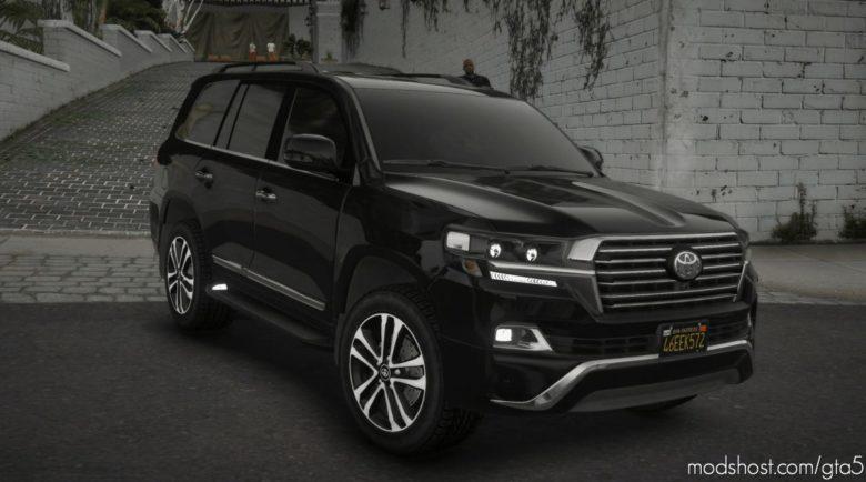 Toyota Land Cruiser VXR 200 2019 for Grand Theft Auto V