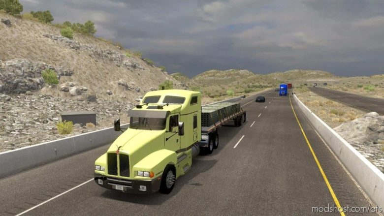 Kenworth T600 Truck Edit Beta Version [1.39] for American Truck Simulator