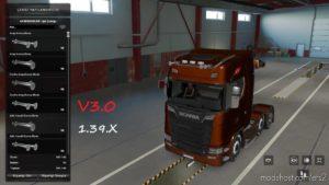 AIR Horns Mod Pack V3.0 for Euro Truck Simulator 2