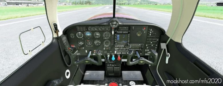 Cockpit Livery Mooney Ovation Black / Creme V2.0 for Microsoft Flight Simulator 2020