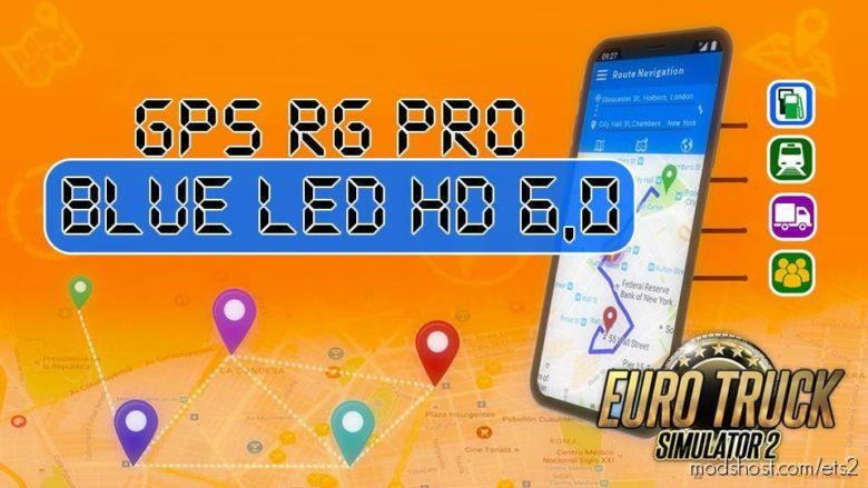 GPS RG PRO Blue LED HD V6.0 for Euro Truck Simulator 2