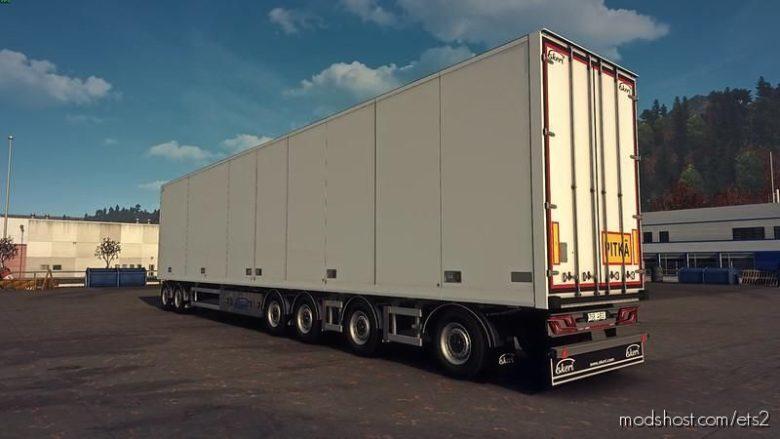 Ekeri Tandem Trailers Addon By Kast V2.3.1 for Euro Truck Simulator 2