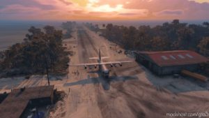 Cayo Perico AIR Access Tweaks: Cleared Runway Vegetation And Removed Invisible Walls for Grand Theft Auto V