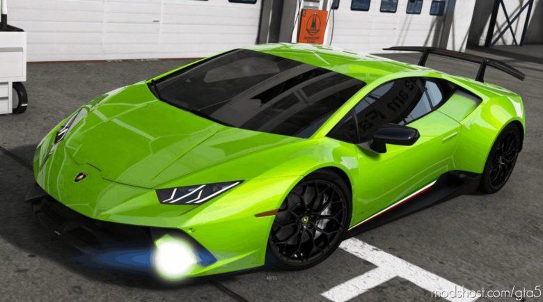 2018 Lamborghini Huracan Performante V1.3.3 for Grand Theft Auto V