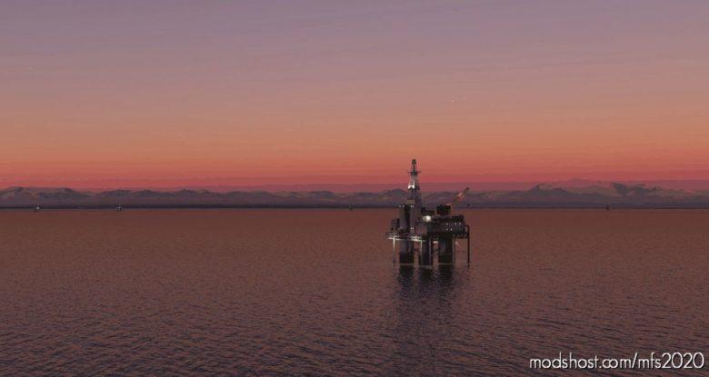 Alaska – Cook Inlet OIL RIG Placements V0.1.0 for Microsoft Flight Simulator 2020