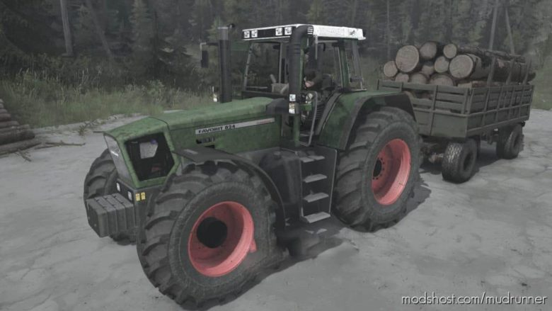 Fendt Favorit 824 Turboshift Tractor for MudRunner