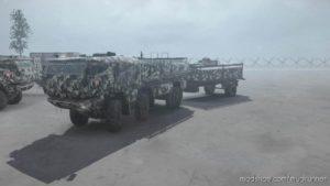 Kamaz Typhoon Truck for MudRunner