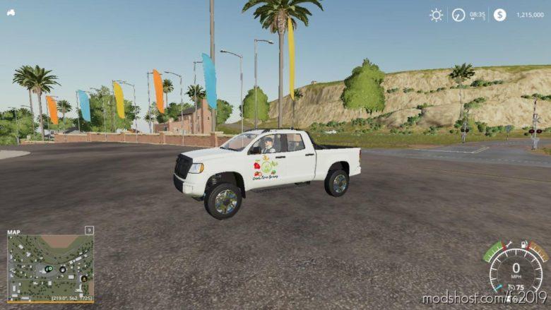 Pickup 2014 Edit By Simgeek for Farming Simulator 19