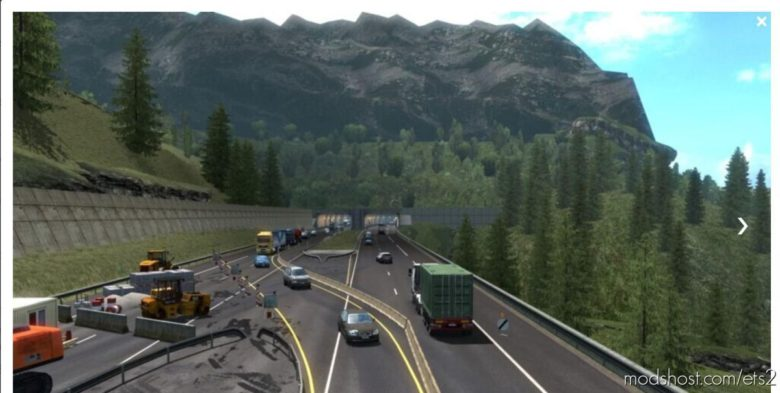 AI Traffic Mod [1.39] [1.39.2.4S] for Euro Truck Simulator 2