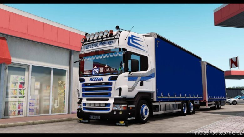 Scania Tandem [1.39] for Euro Truck Simulator 2