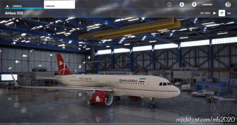 Iran Qeshm AIR A320 NEO – 4K for Microsoft Flight Simulator 2020
