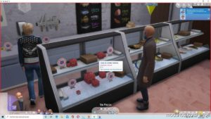 Vegetal Meat Cube CAN BE Sold ON Retail Lots And Storage ON Retail Fridge for The Sims 4