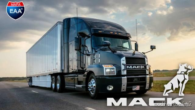 Mack Anthem [1.39] for Euro Truck Simulator 2