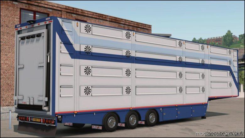 Pezzaioli Trailer [1.38 – 1.39] for Euro Truck Simulator 2