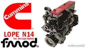 Cummins N14 Lope Idle Engine Sound [1.39] for Euro Truck Simulator 2