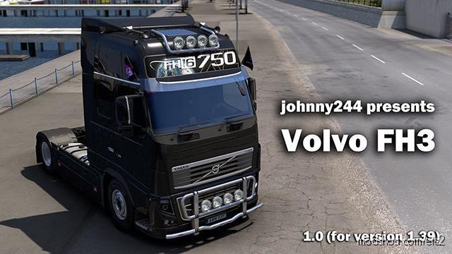 Volvo FH 3RD Generation V1.0.1 [1.39.X] for Euro Truck Simulator 2