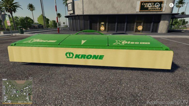 Crazycutter Krone Xdisc620 for Farming Simulator 19