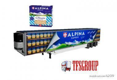 Refrigerated Industrial Trailer Alpina V2.0 for Farming Simulator 19