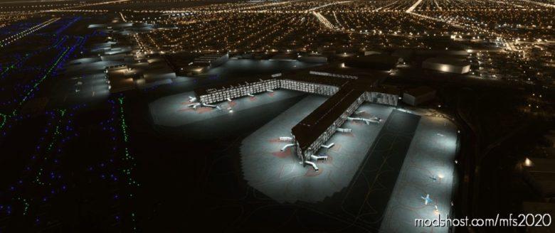 Mmmx Mexico City Airport Night Lighting Improvement for Microsoft Flight Simulator 2020