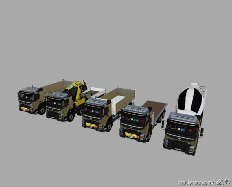 Volvo FMX Pack for Farming Simulator 19