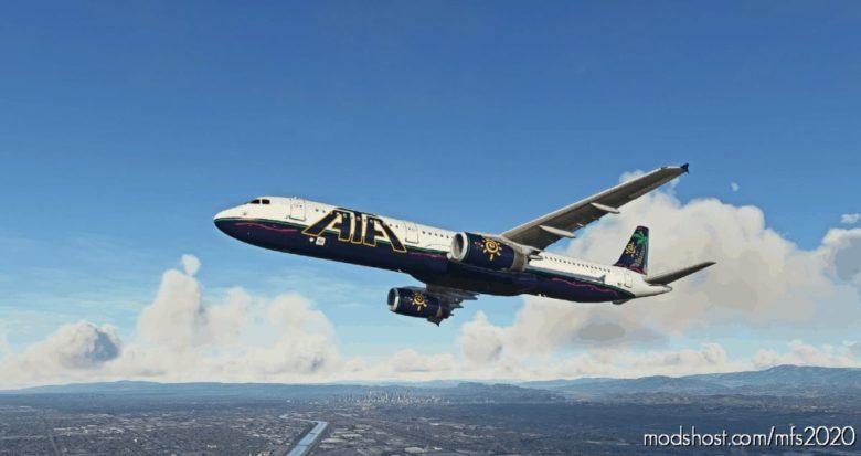 ATA (American Trans AIR) A321 for Microsoft Flight Simulator 2020
