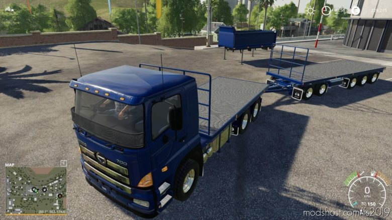 Hino 700 Pack for Farming Simulator 19