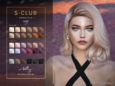 Sclub TS4 Hair N66 Ashley for The Sims 4