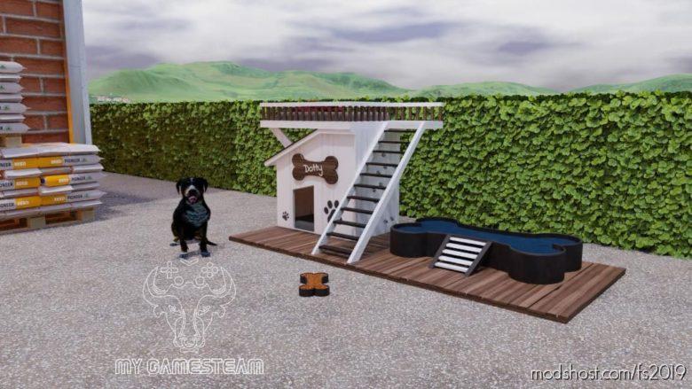 Fancy DOG House for Farming Simulator 19