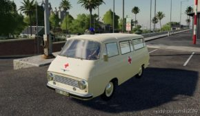 Skoda 1203 Ambulance for Farming Simulator 19