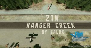 21W Ranger Creek for Microsoft Flight Simulator 2020