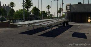 EXP19 Aluminum Flatbed for Farming Simulator 19