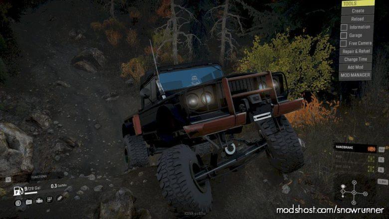 C.C.M. Kaiser-Jeep M715 for SnowRunner