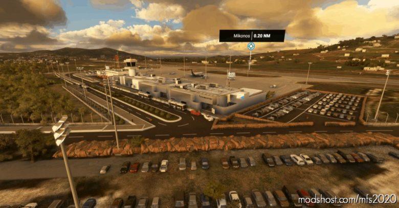 Mykonos Airport V1.0 – Lgmk/Greece for Microsoft Flight Simulator 2020