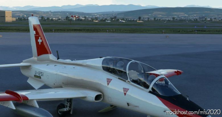 Mb-339Pan Swiss AIR Force U-1251 for Microsoft Flight Simulator 2020