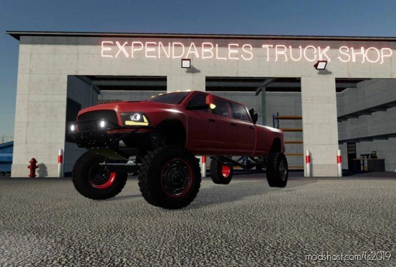 Dodge Mega RAM for Farming Simulator 19