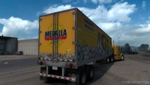 Medalla Light Skin Trailer for American Truck Simulator