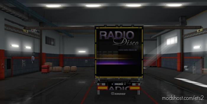 Radio Disco Trailer for Euro Truck Simulator 2